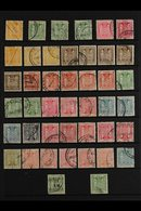 POSTAL FISCALS 1931-1984 USED ACCUMULATION Presented On A Stock Page With A Good Range Of Values To 25s (Cat £800) With  - New Zealand