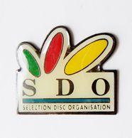 Pin's Informatique Video TV - SDO Selection Disc Organisation - Informatique
