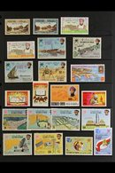 1969-1975 VERY FINE MINT 1969 First Oil Shipment To 1R, 1971 National Day Set And Children's Fund, 1972-75 Definitives R - Oman
