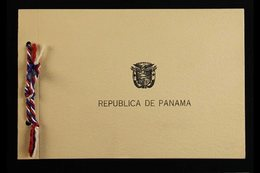 1947 UPU CONGRESS PRESENTATION FOLDER. A Special Printed Presentation Folder Distributed To The Delegates Of The Univers - Panama