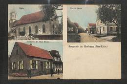 67 - MOTHERN - Multivues - Souvenir De Mothern - 1928 - RARE - Francia