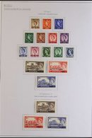 """1957-61 ALL DIFFERENT FINE MINT COLLECTION. A Neatly Presented Collection Of Complete Sets, SG 1/37 Plus Additional """"Cas - Qatar"""