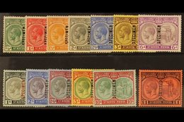 """1920-22 Complete Set Overprinted """"SPECIMEN"""", SG 24/36s, Very Fine Mint. (13) For More Images, Please Visit Http://www.sa - St.Kitts And Nevis ( 1983-...)"""
