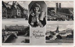 GRUSS AUS MUNCHEN- VIAGGIATA 1935 -REAL PHOTO - Muenchen