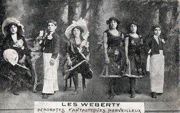 LES WEBERTY - Acrobates Fantastiques Merveilleux . - Cirque