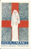 AIDE A L' ENFANCE. CARTE D' ADHESION - Croix-Rouge