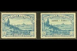 1938 Defence Of Madrid Relief Fund Complete Set (Edifil 757 & 759, SG 839 & 841, Michel 710/11), Fine Mint, Very Fresh.  - Spain