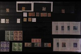 AN AMAZING SPECIALISTS BALANCE ACCUMULATION Of Never Hinged Mint & Used Stamps On Stock Cards, In Packets And Loose Page - Spain