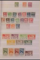 ANDORRA 1929 - 1949 MINT / CHIEFLY NEVER HINGED MINT COLLECTION Includes 1929-38 Perf 14 Selection To 4p, Perf 11½ Selec - Spain