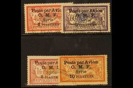 1922 Airmail Set Complete, SG 89/92, Very Fine Used. (4 Stamps) For More Images, Please Visit Http://www.sandafayre.com/ - Syria