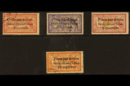 1923 Airmail Set Complete, SG 114/117, Very Fine Used. (4 Stamps) For More Images, Please Visit Http://www.sandafayre.co - Syria