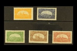 1921 Navy League Label Set, SG A66/70, 2pa With Short Perf, Rest Very Fine Mint (5 Stamps) For More Images, Please Visit - Unclassified