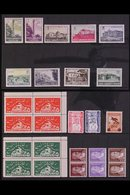 1930-72 MINT AND NEVER HINGED MINT Assembly With Stamps Sorted By Catalogue Number Into Packets, Includes Many Sets With - Unclassified