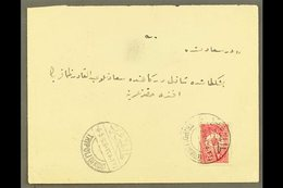 TRIPOLI (LIBYA) 1909 (May) Envelope Bearing 20pa To Instanbul (flap Missing), With Good Clear Bilingual Tripoli Cds, Arr - Unclassified