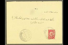 TRIPOLI (LIBYA) 1909 (May) Envelope Bearing 20pa To Instanbul (flap Missing), With Good Clear Bilingual Tripoli Cds, Arr - Turkey