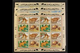 1993-2004 ENDANGERED SPECIES. A Never Hinged Mint Collection Of Sheetlet Year Sets (New York, Geneva & Vienna) Including - Unclassified