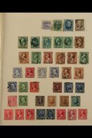 1861-1959 COLLECTION On Leaves, Earlier Issues Chiefly Used, From 1930's Onwards Usually Both Mint & Used Examples, Incl - United States