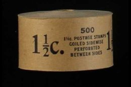 1930 COMPLETE COIL ROLL 1½c Brown Harding Perf 10 Vertically, Scott 686, Never Hinged Mint Complete Rotary Press COIL RO - United States