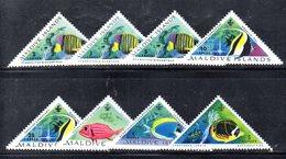 APR2169 - MALDIVE 1962 , Serie  Yvert N. 109/116  ***  MNH  (2380A) .  Pesci Fish - Maldive (1965-...)
