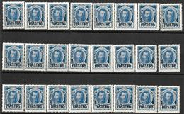 9R-912:24zegels:N°39... 1 PIASTRE1 / 10KON:   Om Verder Uit Te Zoeken... - Levant