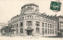 64 Pau La Poste PTT Cachet Gare De Pau 1910 - Pau