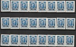 9R-911:24zegels:N°39... 1 PIASTRE1 / 10 KON:   Om Verder Uit Te Zoeken... - Levant