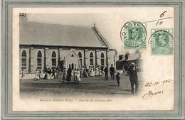 CPA - GAMBIE - GAMBIA RIVER - BATHURST - Aspect De La Sortie De Messe En 1902 - End Of The Sunday Office - Gambie
