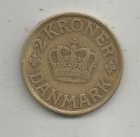 Monnaie , Danemark , DANMARK ,  2 Kroner ,  1926 ,  2 Scans - Danemark