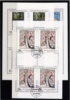 (K 4434c) Tschechische Republik, KB 236/38, Gest. - Blocks & Sheetlets