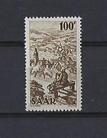 Sarre: 262 ** - 1947-56 Occupation Alliée