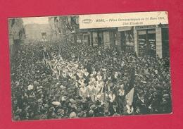 C.P. Mons = Fêtes Carnavalesque Du  22.03.1914 :  Club ELISABETH - Mons
