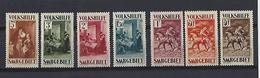 Sarre: 148/154 ** - 1947-56 Occupation Alliée