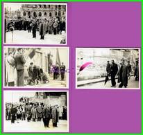 61 Orne ARGENTAN Reproduction 4 Photo Papier - 11 Novembre 1945 Commémorations Des Morts - Reproducciones