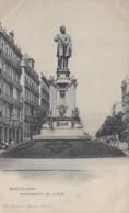 Espagne - Espana - Barcelona - Monumento De Anselm Clavé - Editeur Hauser Y Menet - Barcelona