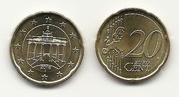 20 Cent, 2018,  Prägestätte (J),  Vz, Sehr Gut Erhaltene Umlaufmünzen - Germania