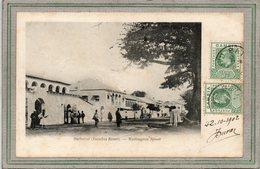CPA - GAMBIE - GAMBIA RIVER - BATHURST - Aspect, De La Rue Wellington, Street - 1902 - Gambia