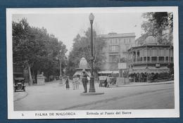 PALMA DE MALLORCA - Entrada Al Paseo Del Borne - Format Cpa - Palma De Mallorca