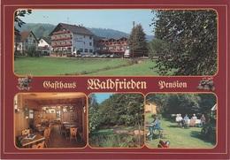 AK Eschau Wildensee Gasthof Pension Waldfrieden A Dammbach Altenbuch Faulbach Collenberg Wertheim Wörth Miltenberg Main - Miltenberg A. Main