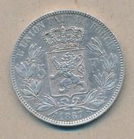 België/Belgique 5 Fr Leopold II 1867 Morin 154 (89318) - 09. 5 Francs