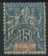 Sainte Marie De Madagascar (1894) N 6 (o) - Used Stamps