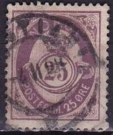 Norway 1882-1885 POSTFRIM 25 Ore Matlila Michel 42 - Noorwegen