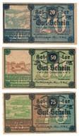 Austria Notgeld Lot / Set - KLAUSEN-LEOPOLDSDORF X 3 - Oesterreich