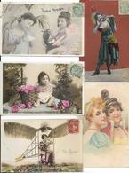 LOT DE 500 CARTES FANTAISIES DIVERS A VOIR BON LOT - Postcards