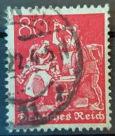 DEUTSCHES REICH - Canceled - Mi 186 - 80M - Allemagne