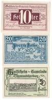 Austria Notgeld Lot / Set - SIGMUNDSHERBERG X 3 - Oesterreich