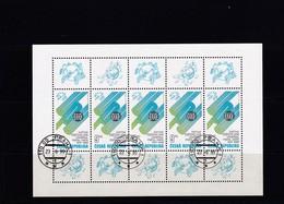 (K 4434d) Tschechische Republik, KB 224, Gest. - Blocks & Kleinbögen