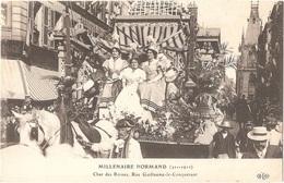 Dépt 76 - ROUEN - Char Des Reines, Rue Guillaume-le-Conquérant - MILLÉNAIRE NORMAND (911-1911)- ELD - Rouen