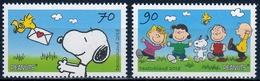 Bund MiNr. 3369/70 ** Comic: Snoopy - Unused Stamps