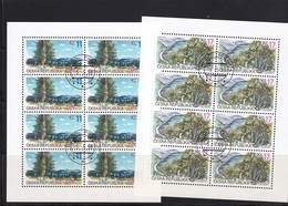 (K 4434d) Tschechische Republik, KB 215/16, Gest. - Blocks & Kleinbögen