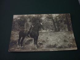 Carte Postale Photographie Guerre 14/18 Militaire Soldat Allemagne Cavalier - Guerre 1914-18